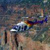 Gran Cañon sur Avión con helicóptero